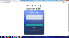 EtherpowerBox Plus_Desktop Web Interface 1